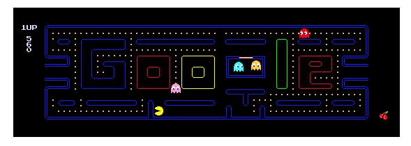 Google feiert den Geburtstag von Pac-Man
