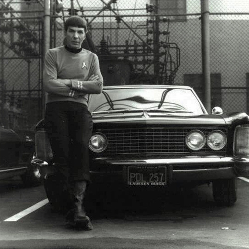 Spock and the car